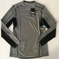 Men's Nike Pro Combat Dri-Fit Max FITTED Hypercool Series Long Sleeve Shirt Sz S