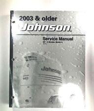 2003 + Johnson 40 50 HP Service Manual ST 4 Stroke Outboard Motor 5005469 SEALED