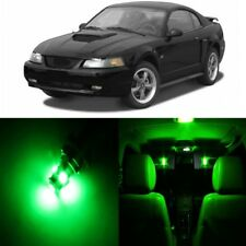 12 x Green LED Interior Light Package For 1994 - 2004 Ford Mustang + PRY TOOL