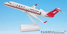 Shanghai Airlines CRJ200 Airplane Miniature Model Metal Die-Cast Scale 1:100 Par