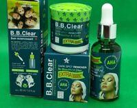 BB CLEAR  crème visage  et sérum  super eclaircissant réparateur  Anti-tâches