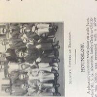 A1d ephemera 1936 london gas company hounslow kilburn fitters s g aberdein