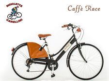 D CR Fahrrad Retrò citybike bike rennrad Cruiser frau damen stahl vintage mat s