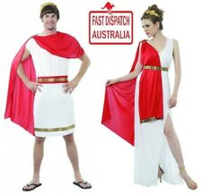 CAESAR/TOGA & GODDESS TOGA. BOTH COSTUMES, HAIL THE PARTY........