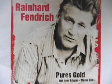 "Rainhard Fendrich   Pures Gold   5"" Promo Maxi - CD   2 Tracks  2010  sehr rar!!"