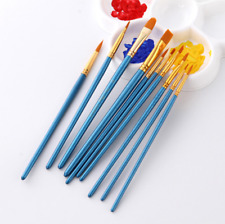 10Pcs Artist Paint Brushes Set Art Painting Supplies Acrylic Oil Paintings Brush