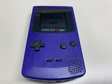 NINTENDO GAMEBOY COLOR HANDHELD SYSTEM CGB-001 PURPLE *FULLY FUNCTIONS*