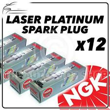 12x NGK SPARK PLUGS Part Number PFR6T-10G Stock No. 5542 New Platinum SPARKPLUGS