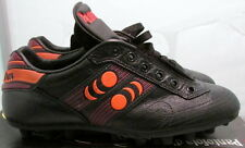 1990's Pantofola d'oro Sphinx Mens Soccer Shoes, Size 6, Black