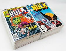 Incredible Hulk #256-401 Lot of 76 Comics (1968 Marvel) Most in VF/NM Cond.