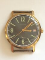 Early soviet VOSTOK Komandirskie Military watch Grey dial. ZAKAZ MO USSR