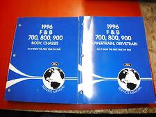 1996 FORD F, B 700 800 900 MEDIUM DUTY ORIGINAL FACTORY SERVICE MANUALS SHOP