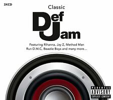 CLASSIC DEF JAM 3CD SET - VARIOUS ARTISTS (October 9th 2015)