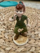 New ListingVintage Disney Peter Pan Porcelain Figurine