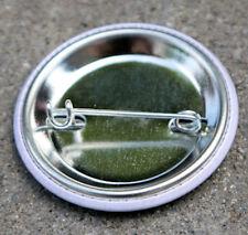"""VAMPIRE SMILEY FACE - Button Pinback Badge 1.5"""" Horror"""