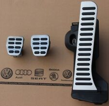 VW Golf 5 6 original GTI pedal pads caps RHD right hand drive covers R32 Pedale