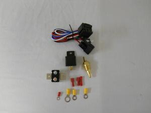 Universal Thermostatic Fan Controller Relay Sensor 30amp