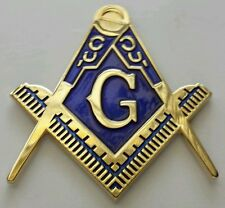 Masonic cut-out car emblem in gold