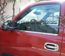 99-06 Chevy Silverado/Sierra Regular Cab Chrome Window Sill Trim Stainless Steel