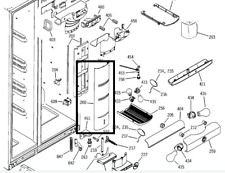Cover Ff Tower GE Arctica Refrigerators WR17X10802 (AP3184139)