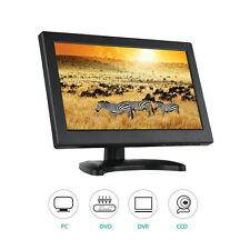 "12"" TFT LCD HD 1366X768 VGA AV HDMI TV Monitor altavoz incorporado para CCTV PC"