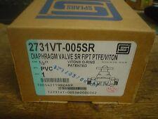 Spears Diaphragm Valve 2731VT-005SR  SR Threaded 1/2''   60 day warranty - nib