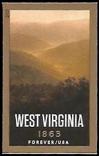 USA NO Die Cuts Sc. 4790a (46¢) West Virginia 2013 MNH single*