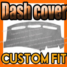 Fits 2008-2014  MITSUBISHI LANCER  DASH COVER MAT DASHBOARD PAD / LIGHT GREY