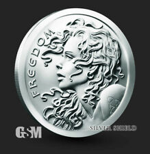 2021 Freedom Girl Silver Shield Silver Round Coin 1 oz .999 Fine Silver IN STOCK