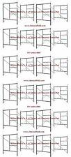 "12 Set of New 5' X 5'1"" X 7' Masonry Flip Lock Scaffold Frame Set Cbm Scaffold"