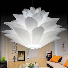 White Lotus Chandelier PVC Ceiling Lighting Flower Pendant Chrismas Lamp Deocr