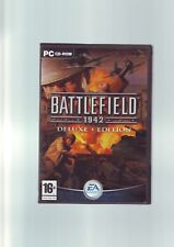 BATTLEFIELD 1942 DELUXE EDITION inc ROAD TO ROME- PC GAME - FAST POST - COMPLETE