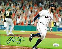 Tyler White Signed 8x10 Photo MLB Autographed - Houston Astros JSA 3