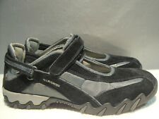 WOMENS NEW 7.5 MEPHISTO ALL ROUNDER BLACK LEATHER MARYJANE COMFORT SNEAKER SHOES