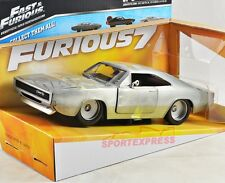 New 1/24 97336 presque & furious Dom 's Dodge Charger r/t, silver