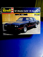 REVELL '87 Monte Carlo SS Aeroback 1:24 85-2576  Factory Sealed In'99 Rare Model