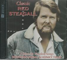 Classic Red Steagall – Western Swing & Honky Tonk Music Cd