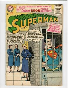 Superman No.108 Early Silver-Age 1956 in VG-