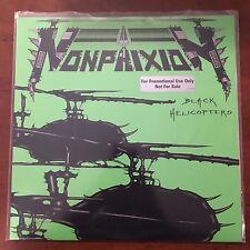 """Non Phixion """"Ill Bill Necro"""" Black Helicopters 12"""" Rare Mint Promo"""