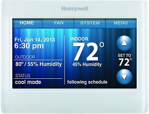 Honeywell TH9320WF5003 Wi-Fi 9000 Touch Screen Programmable Thermostat - Renewed