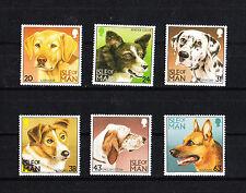Ile de MAN  timbre   faune  chiens    num:  732/737  **