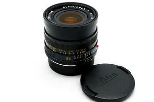 Leica Leitz 35mm Summicron-R f2 (2-Cam) with caps