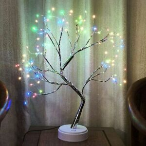 Tree Lamp Lighted Birch Tree 108 LED Twig Tree with Lights up 20 Inches Tree