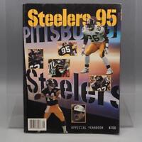 Vintage Pittsburgh Steelers 1995 Media Guide Yearbook Program Book NFL Football
