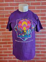Vintage Kodak Albuquerque 1993 Hot Air Balloon Fiesta T-Shirt New Mexico Medium