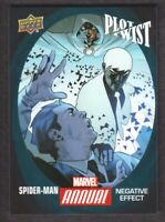 2017 Marvel Annual 2016 Plot Twists Trading Card #PT-8 Spider-Man