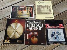 Gretsch Drum Misc Catalogs