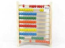 Wooden Framed Counting Beads For Maths Tuition Toy Kids Gift