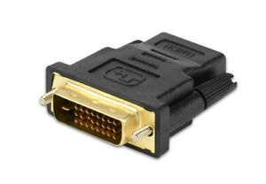 HDMI To DVI Adapter Cables 24+1 24k Gold Plated Male Female Cable Converter. 081