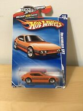 2010 hot wheels VOLKSWAGEN SP2 orange 126/240 ALL STARS